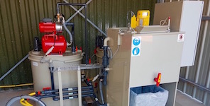 Wastewater treatment station SW100 semi-automatic